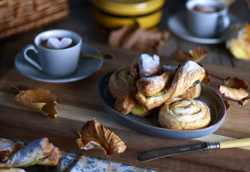 Danish Pastry Autumnal Food Editorial